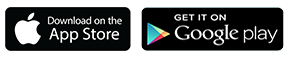 Apple & Google Play logo